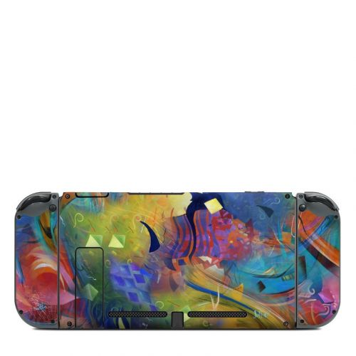 Fascination Nintendo Switch Back Skin