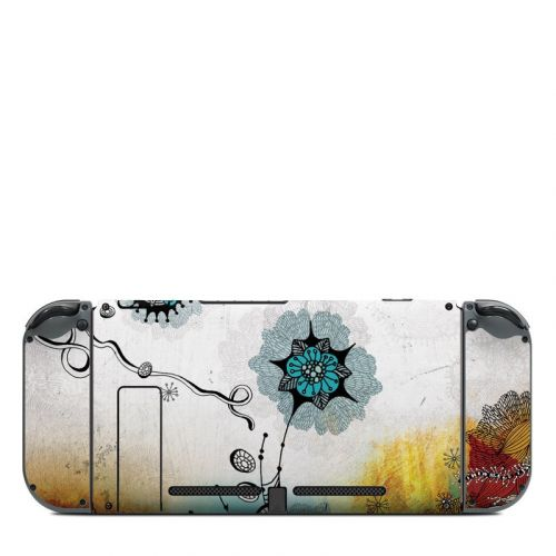 Frozen Dreams Nintendo Switch Back Skin