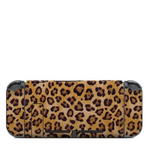 Leopard Spots Nintendo Switch Back Skin