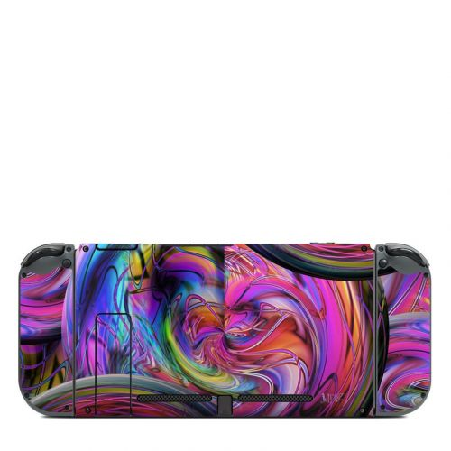 Marbles Nintendo Switch Back Skin