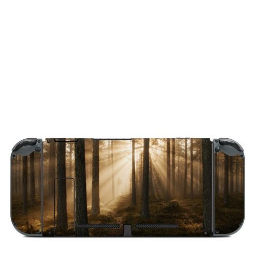 Misty Trail Nintendo Switch Back Skin