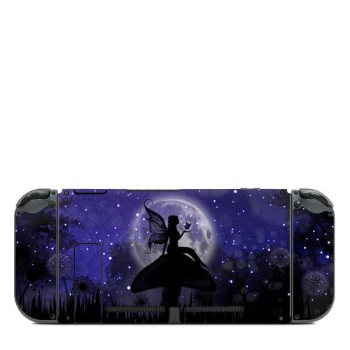 Moonlit Fairy Nintendo Switch Back Skin