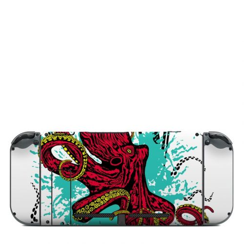 Octopus Nintendo Switch Back Skin