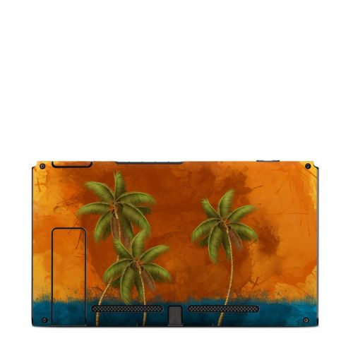 Palm Trio Nintendo Switch Back Skin