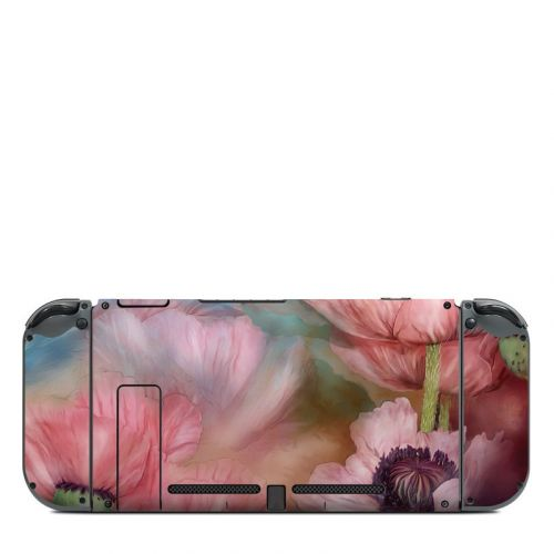Poppy Garden Nintendo Switch Back Skin