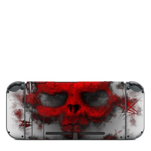 War Light Nintendo Switch Back Skin