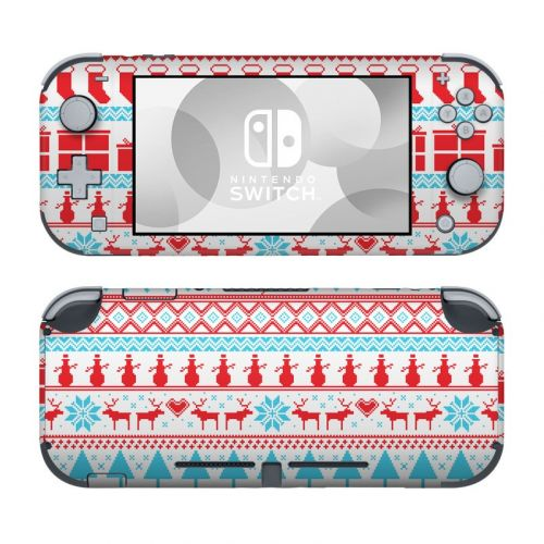 Comfy Christmas Nintendo Switch Lite Skin