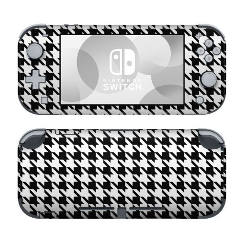 Houndstooth Nintendo Switch Lite Skin