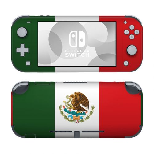 Mexican Flag Nintendo Switch Lite Skin