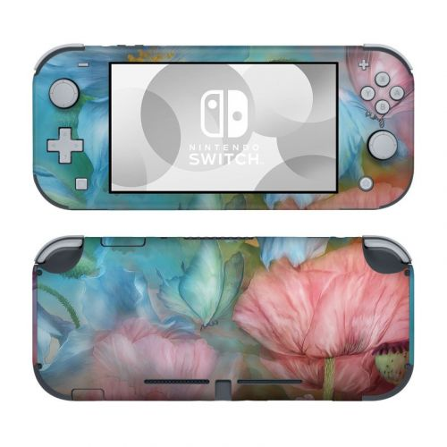 Poppy Garden Nintendo Switch Lite Skin
