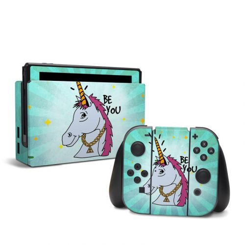 Be You Unicorn Nintendo Switch Skin