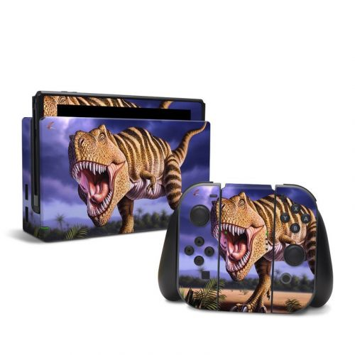 Brown Rex Nintendo Switch Skin