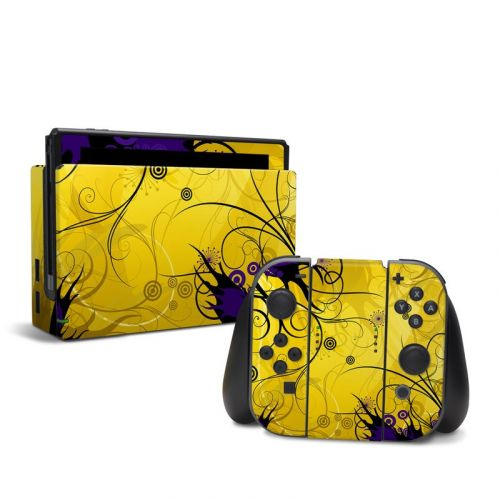 Chaotic Land Nintendo Switch Skin