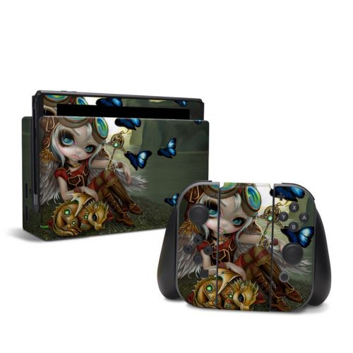 Clockwork Dragonling Nintendo Switch Skin