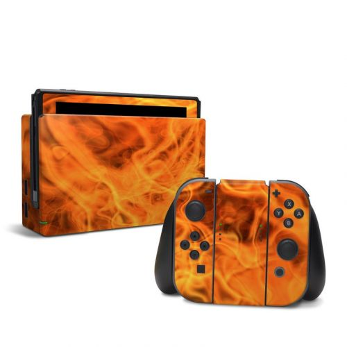 Combustion Nintendo Switch Skin