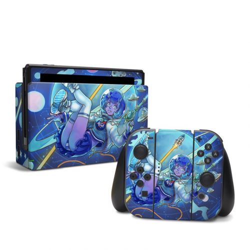 We Come in Peace Nintendo Switch Skin