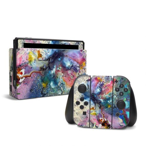 Cosmic Flower Nintendo Switch Skin