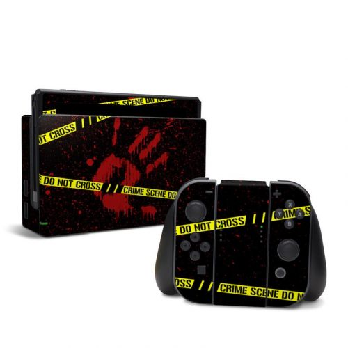 Crime Scene Nintendo Switch Skin
