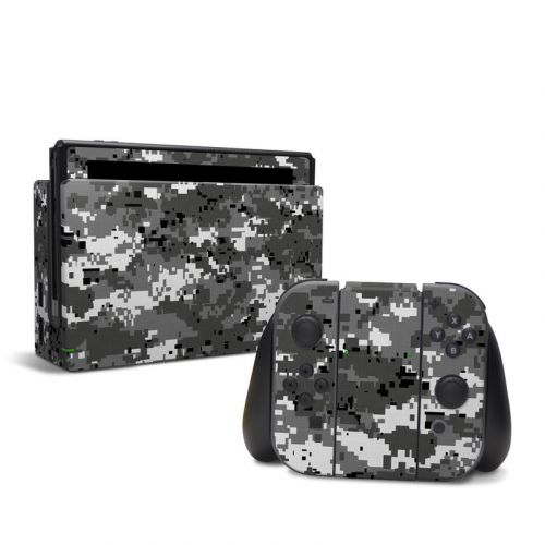 Digital Urban Camo Nintendo Switch Skin