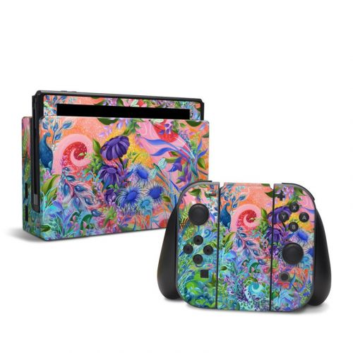 Fantasy Garden Nintendo Switch Skin