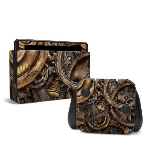 Gears Nintendo Switch Skin