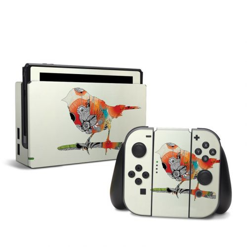 Little Bird Nintendo Switch Skin