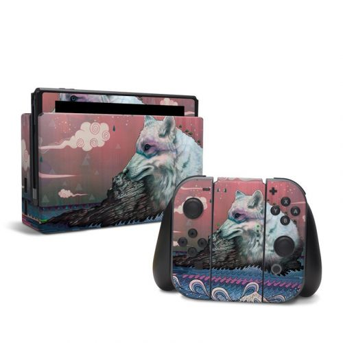 Lone Wolf Nintendo Switch Skin