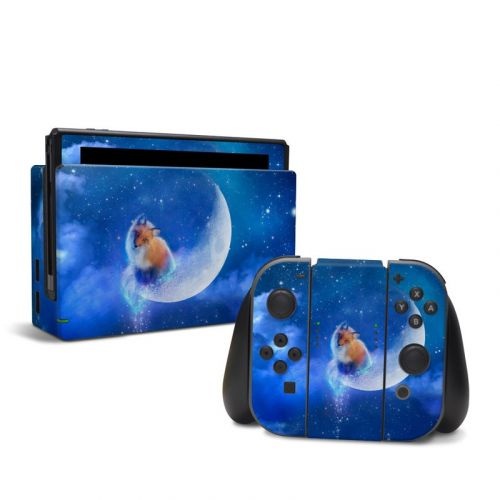 Moon Fox Nintendo Switch Skin