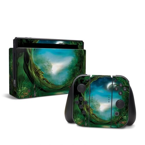 Moon Tree Nintendo Switch Skin