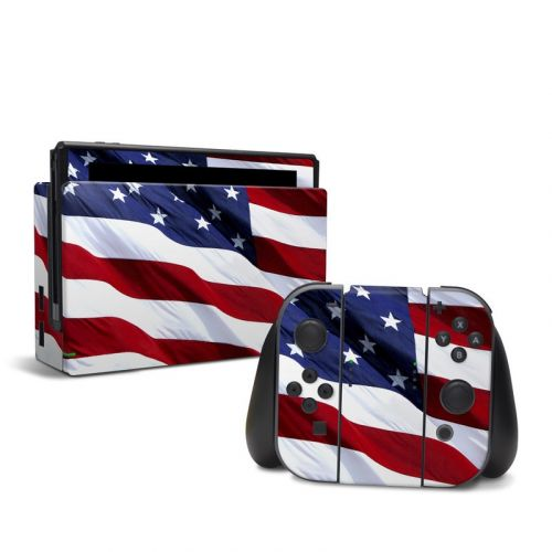 Patriotic Nintendo Switch Skin