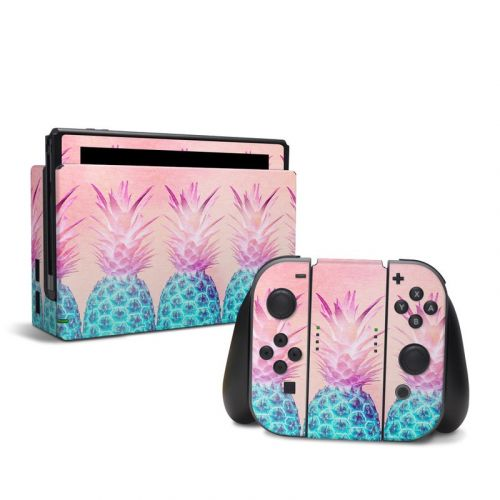 Pineapple Farm Nintendo Switch Skin