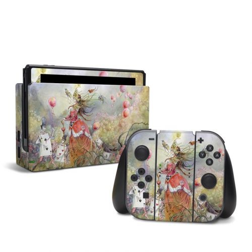 Queen of Hearts Nintendo Switch Skin