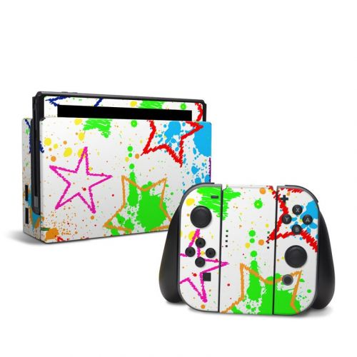 Scribbles Nintendo Switch Skin