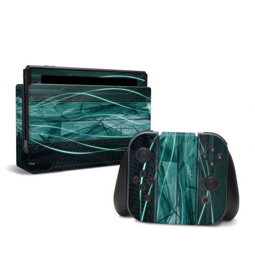 Shattered Nintendo Switch Skin