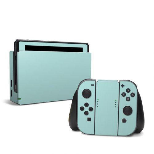 Solid State Mint Nintendo Switch Skin