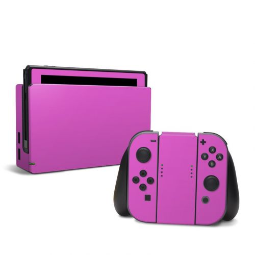 Solid State Vibrant Pink Nintendo Switch Skin
