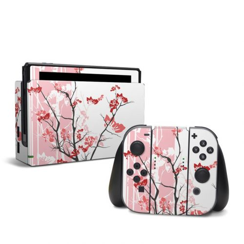 Pink Tranquility Nintendo Switch Skin