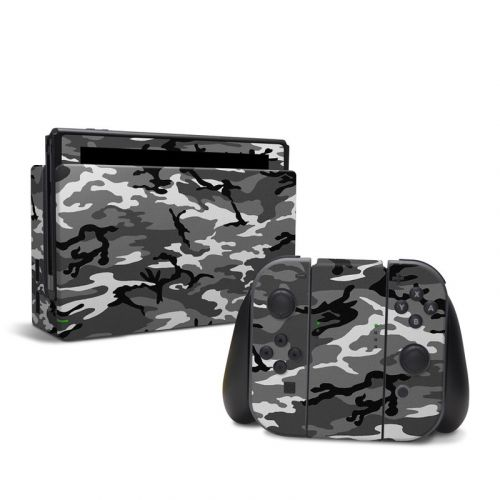 Urban Camo Nintendo Switch Skin