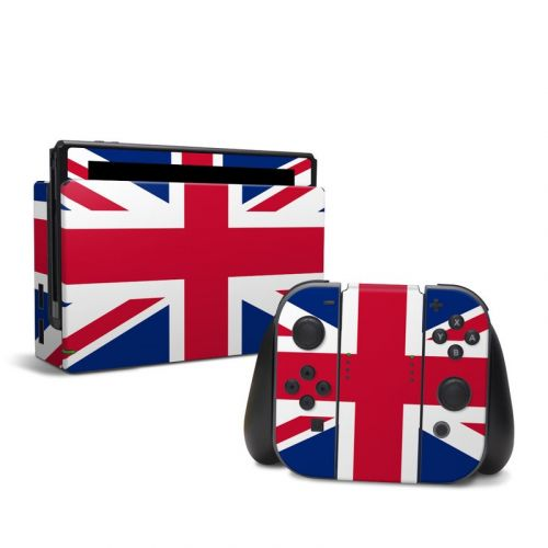Union Jack Nintendo Switch Skin