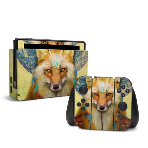 Wise Fox Nintendo Switch Skin