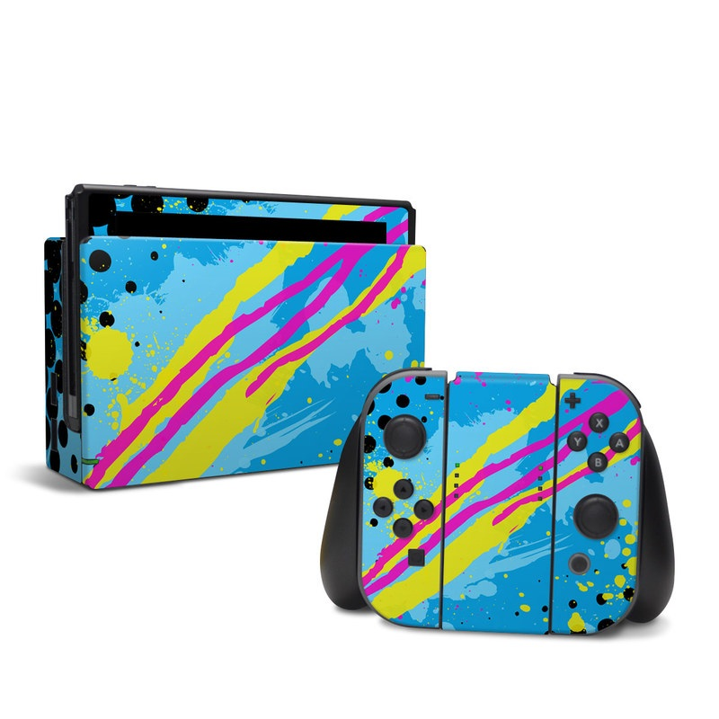 Acid Nintendo Switch Skin