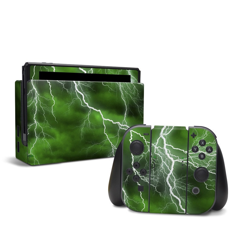 Apocalypse Green Nintendo Switch Skin