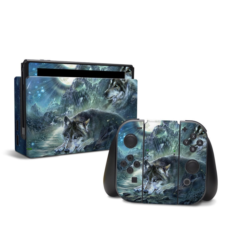 Bark At The Moon Nintendo Switch Skin