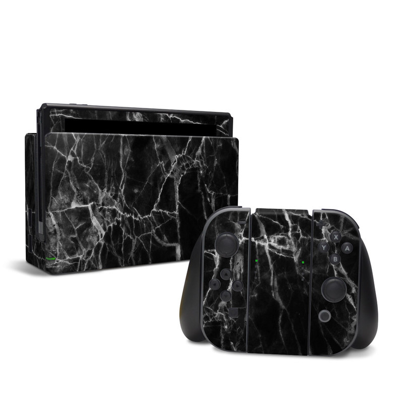Nintendo Switch Skin design of Black, White, Nature, Black-and-white, Monochrome photography, Branch, Atmosphere, Atmospheric phenomenon, Tree, Sky with black, white colors
