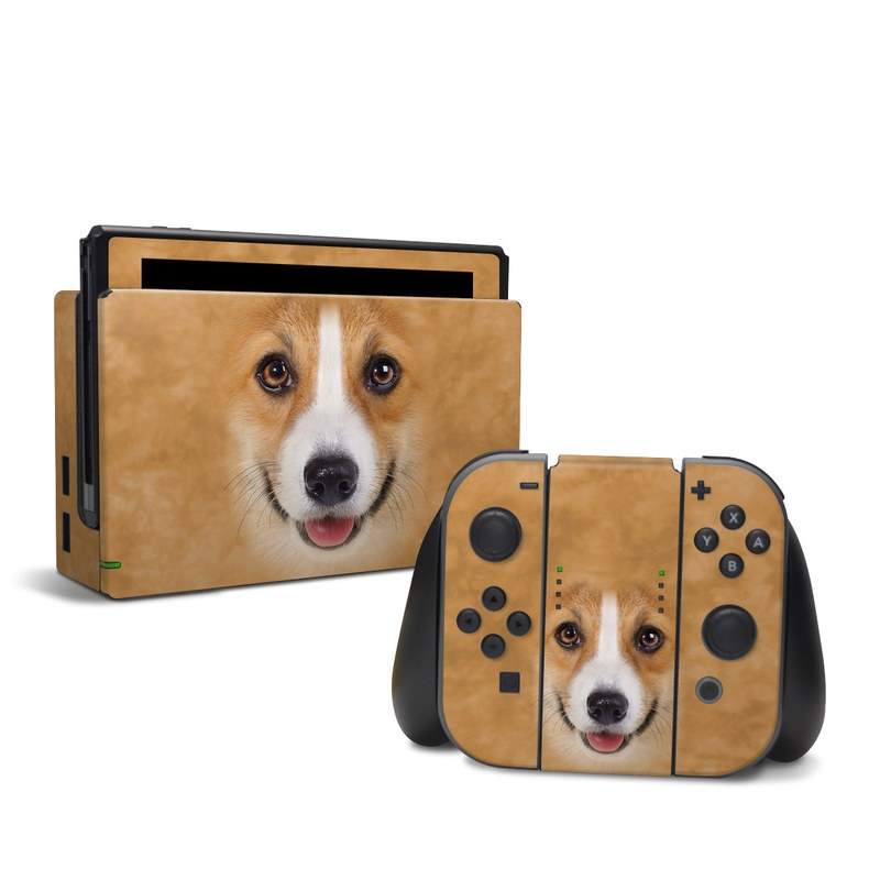 Corgi Nintendo Switch Skin