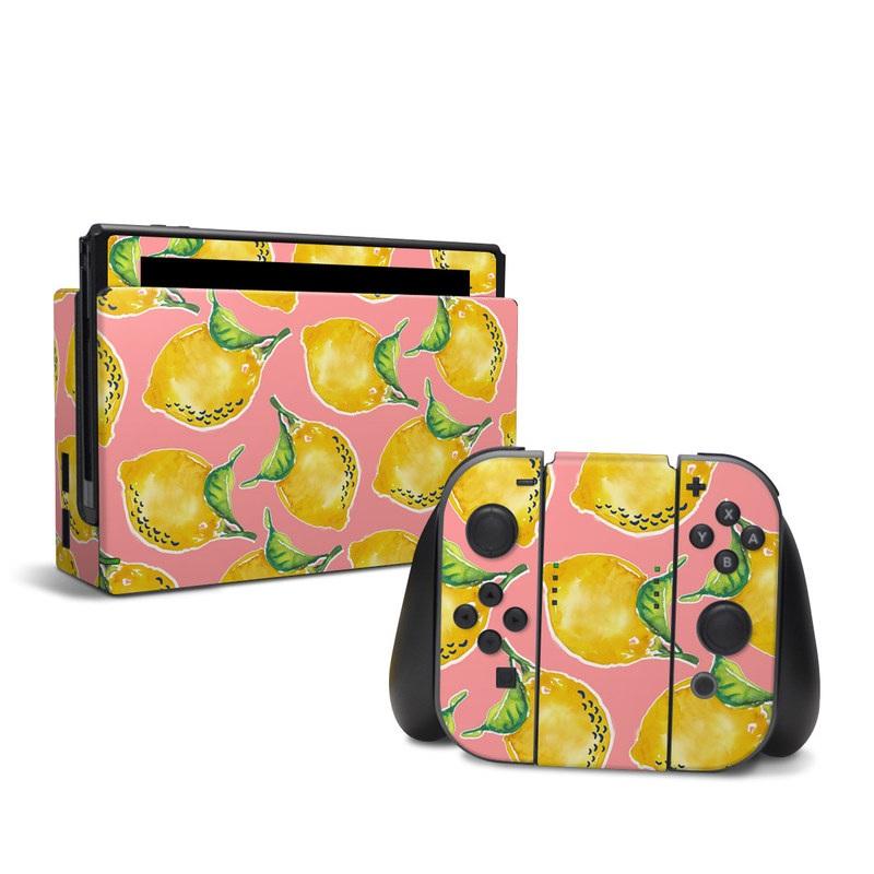 Lemon Nintendo Switch Skin