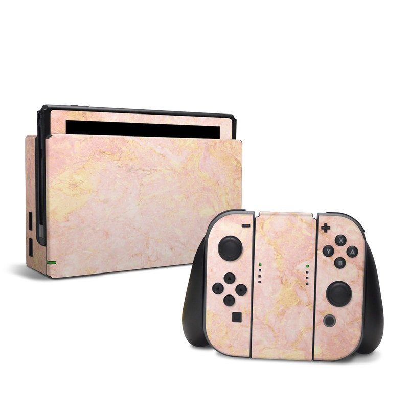 Rose Gold Marble Nintendo Switch Skin Istyles