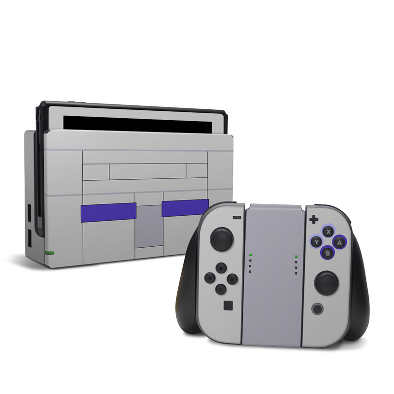 SNES Nintendo Switch Skin