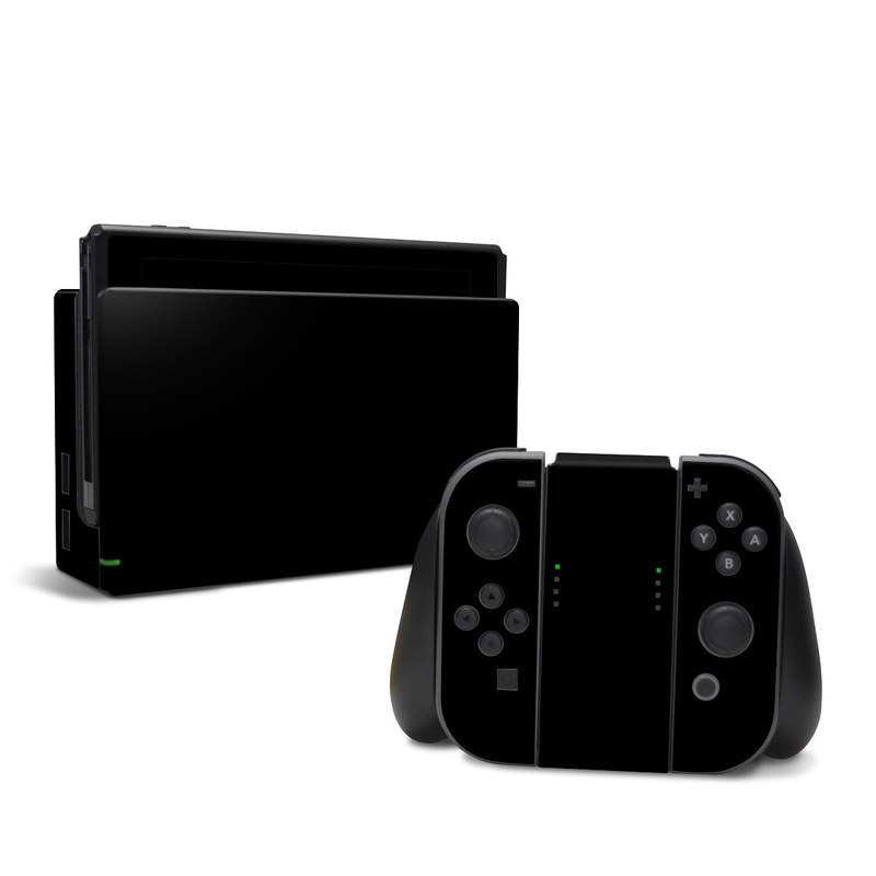 Solid State Black Nintendo Switch Skin