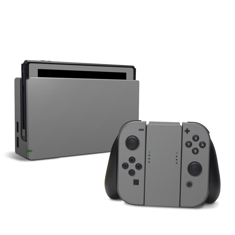 Solid State Grey Nintendo Switch Skin